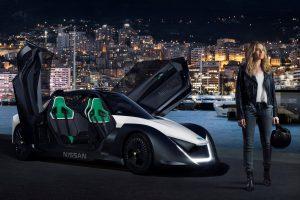 Női szupergonosz a Nissan elektromos nagykövete