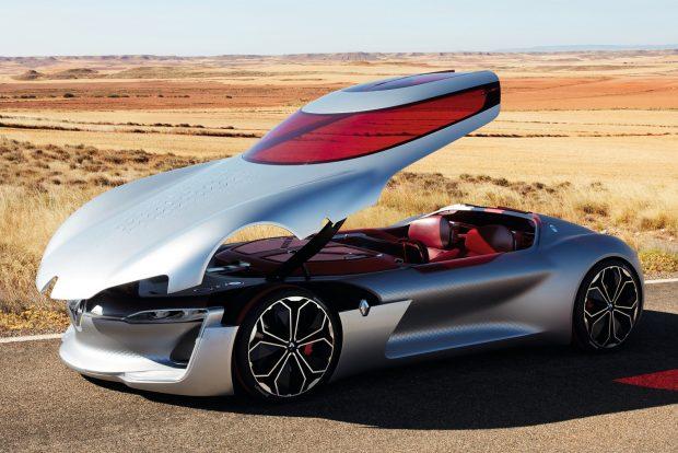 A Renault Trezor a Citroën Cxperience Concept, a DS E-Tense és a Mercedes-Benz Maybach 6 tanulmányokat megelőzve győzött.