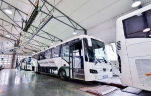 100 új buszt kaptak a vidéki közlekedési központok