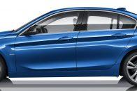 Háromhengeres szedán a BMW-től