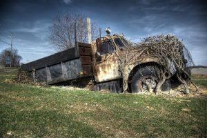 Rozsdagyűjtő, erdőben lassan rohadó autók romantikája
