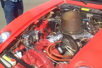 Ilyen amikor egy őrült végez Porsche-szívátültetést, V8 helyett gázturbina