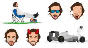 F1: Alonsóból emoji lett