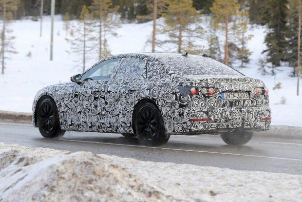 Audi A6 2018 kémfotó