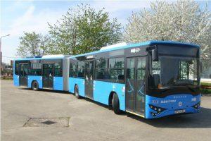 Közel kétszáz buszt vásárol a Volánbusz az Ikarus EAG-tól