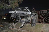 Kerítés állította meg a dunakeszi BMW-s ámokfutót