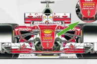 F1: Ilyen lesz az új Ferrari, cápauszonyt is kap