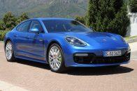 Vezettük: Porsche Panamera 4 E-Hybrid