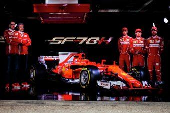 F1: Itt van Vettel és Räikkönen új Ferrarija