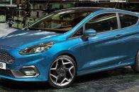 Három hengerrel támad az új Ford Fiesta ST