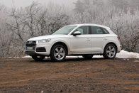 Vezettük: Audi Q5 2.0 TDI quattro S tronic