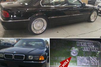 Eladó a BMW, amiben Tupacot lelőtték