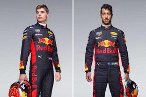 F1: Verstappenék megkapták az új egyenruhát
