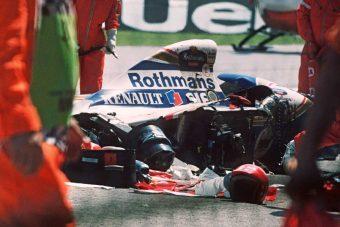 F1: Sosem látott felvételek Senna utolsó futamáról