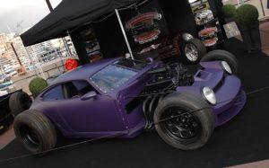 Őrült hod rod lett a pusztulásra ítélt Porsche 911-esből