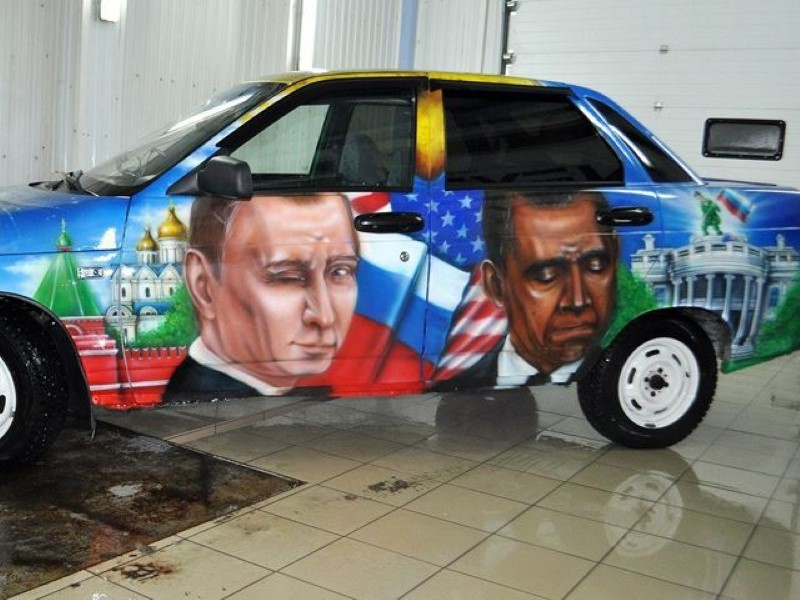 Vladimir-Putin-fans-paint-his-picture-on-their-cars-13