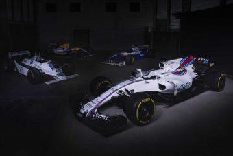 F1: Teljes valójában itt az új Williams