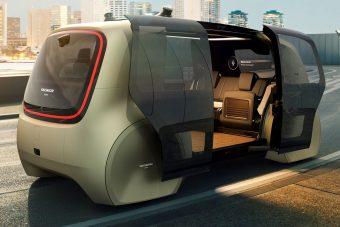 Volkswagen Sedric: szabadság gombnyomásra