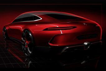 Mercedes-AMG GT Concept: négyajtós sportkupé-tanulmánnyal kelt feszültséget a Mercedes