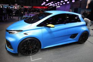 Renault ZOE e-Sport Concept: Bevásárlós versenyautó