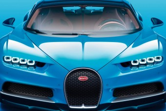 Így gyorsul 350-re a Bugatti Chiron