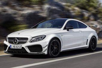 Brutális C-kupéval erősít a Mercedes