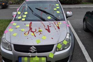 Lányok bántak el egy Suzukival Győrben