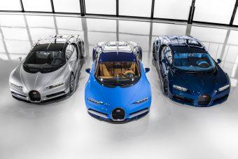 Már eladták a Bugatti Chironok felét