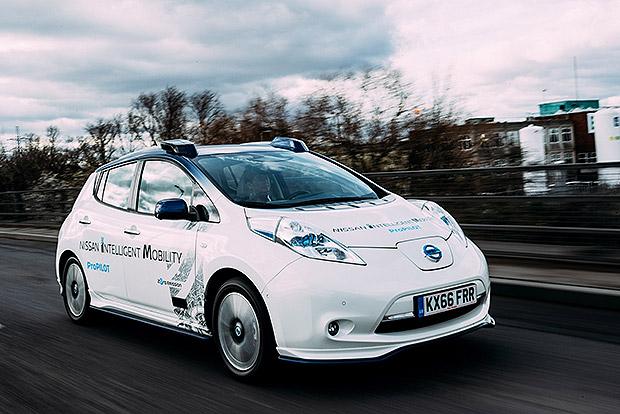A Nissan már Európában teszteli az önvezető autókat