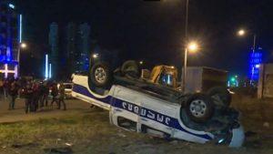 Parkolási bírság miatt tört ki zavargás Grúziában