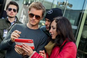 F1: Erre a műanyagdarabra büszke Nico Rosberg