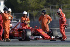 F1: Räikkönené a 2017-es tesztcsúcs