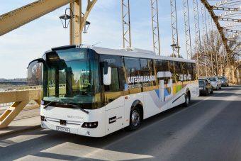 Élesben tesztelik az új magyar buszt