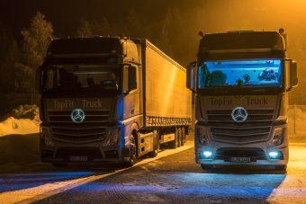 Mesterséges nappali fénnyel segítenék a kamionsofőröket