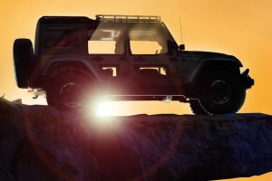 Sivatagi Show, Jeep módra