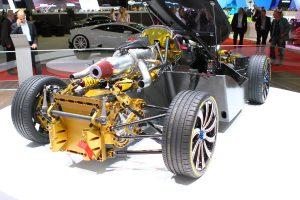 Gázturbinás szupersportkocsi Kínából