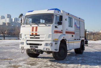 Speciális mentőjárművet épített a Kamaz
