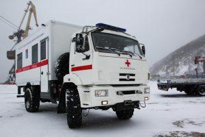Off-road Kamazzal mentik a betegeket