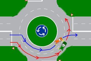 Mutatjuk, hogyan kell közlekedni helyesen többsávos körforgalomban
