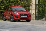 Benzinpárán megél az új Suzuki Swift