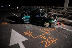 Fotókon az M0-áson történt halálos baleset