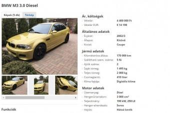 Tényleg ördögtől való ez a BMW M3?