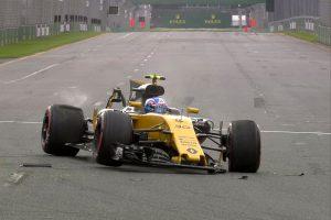 F1: Videón a szezon első autótörése