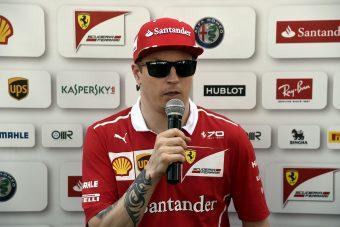 F1: Räikkönen nem bírja a tempót?