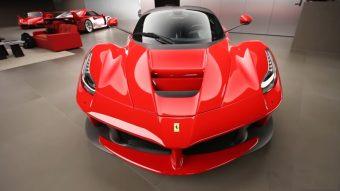 Elképesztő Ferrari gyűjtemény lapul egy titkos garázsban