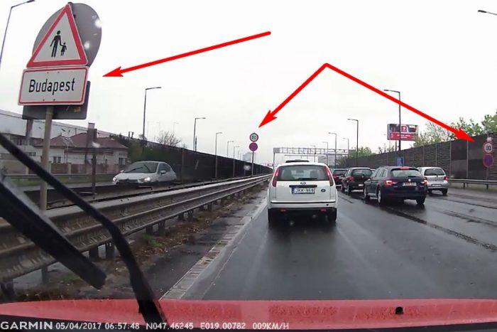 80-as táblák kerültek ki a bevezető szakasz budapesti határára, később ott, ahol eddig 50-nel kellett menni, 70-re moderálódik a megengedett sebesség