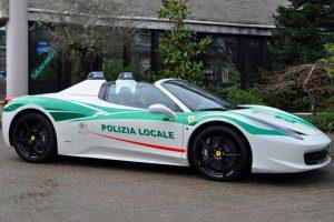 Bűnözők autóit használják az olasz rendőrök