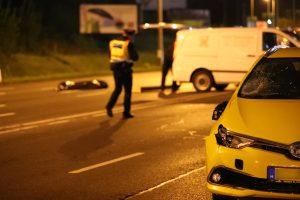 Taxi gázolt gyalogost Vecsésen