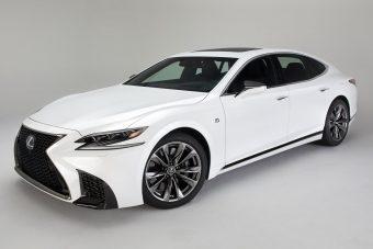 Lexus LS 500 F Sport: luxuslimuzin sportkötésben