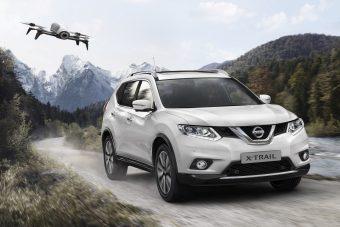 Nissan X-Trail X-Scape: repülő kamera jár hozzá